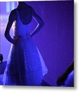 Dancer Standing Backstage Waiting For Metal Print