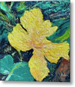 Dancing Flower Metal Print