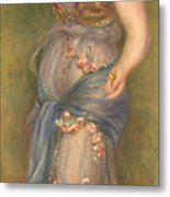 Dancing Girl With Castanets, 1909 Metal Print