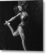 Dancing Is A Form Of Visual Art Metal Print