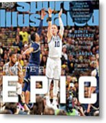 Dantes Epic Donte Divincenzo, The Perfect Performance Sports Illustrated Cover Metal Print