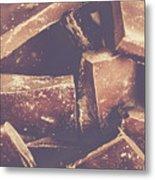 Dark Chocolate Delight Metal Print