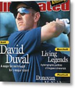David Duval, 2001 British Open - Final Round Sports Illustrated Cover Metal Print