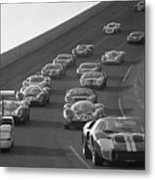 Daytona 24 Hour Endurance Auto Race Metal Print