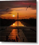 Dc Sunrise Metal Print