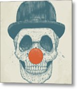 Dead Clown Metal Print