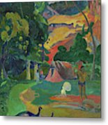 Death, Landscape With Peacocks, 1892 Metal Print