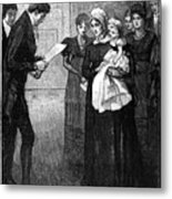 Death Of The Duke Of Kent, Father Metal Print