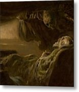 Death Of The Old Man Metal Print