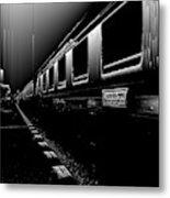 Death Railway Metal Print