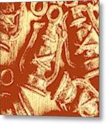 Decoratively Historic Metal Print