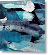 Deep Blue #1 Metal Print
