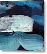 Deep Blue #3 Metal Print