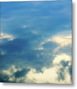 Deep Blue Sky Metal Print