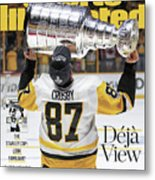 Deja View. The Stanley Cup Look Familiar Sports Illustrated Cover Metal Print