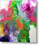 Delicate Canvas Two Metal Print
