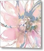 Delicate Flower Burst    Metal Print