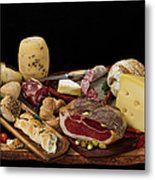 Delicious Typical Argentinean Antipasto Metal Print