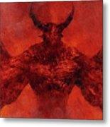 Demon Lord Metal Print