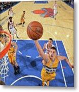 Denver Nuggets V New York Knicks Metal Print