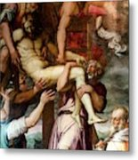 Deposition From The Cross Metal Print