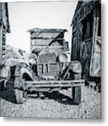 Depression Era Dust Bowl Car Metal Print
