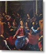 Descente Du Saint Esprit 1635 Metal Print