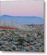 Desert On Fire No.2 Metal Print