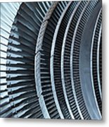 Detail Of Turbine Metal Print