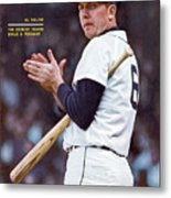 Detroit Tigers Al Kaline... Sports Illustrated Cover Metal Print