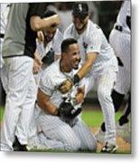Detroit Tigers V Chicago White Sox - Metal Print