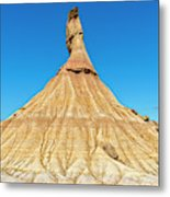 The Desert Of The Royal Bardenas Metal Print
