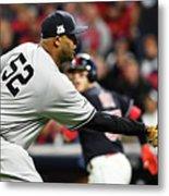 Divisional Round - New York Yankees V Metal Print
