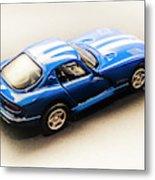 Dodge Viper Gts Metal Print