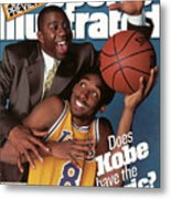 Does Kobe Have The Magic Sports Illustrated Cover Metal Print