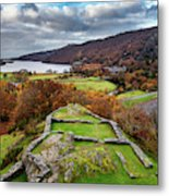 Dolbadarn Castle View Metal Print