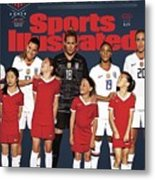 Dominate Today, Inspire Tomorrow 2019 Womens World Cup Sports Illustrated Cover Metal Print