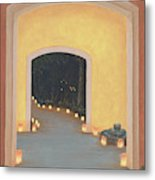 Doorway To The Festival Of Lights Metal Print