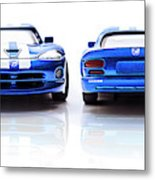 Double The Sting Metal Print