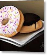 Doughnut Life Metal Print
