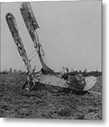 Downed Fokker Metal Print