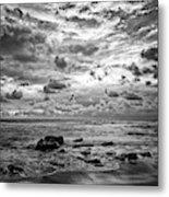 Dramatic Seascape Metal Print
