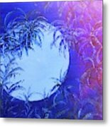 Dream By The Tropical Moon Metal Print