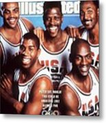 Dream Team, 1992 Barcelona Olympic Games Preview Sports Illustrated Cover Metal Print