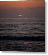 Dreamcicle Sunset Metal Print