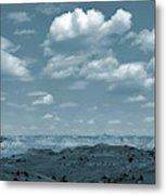 Drifting Clouds And Shifting Shadows Metal Print