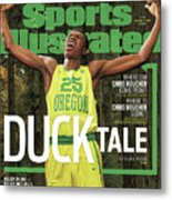 Duck Tale 2016-17 College Basketball Preview Issue Sports Illustrated Cover Metal Print