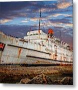 Duke Of Lancaster Ship Metal Print