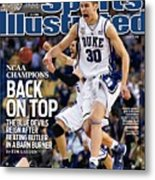 Duke University Jon Scheyer, 2010 Ncaa National Championship Sports Illustrated Cover Metal Print