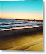 Dusk On The Strand Metal Print